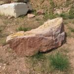 Stein Nr. 2 für Bildhauerworkshop