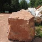 Stein Nr. 1 für Bildhauerworkshop